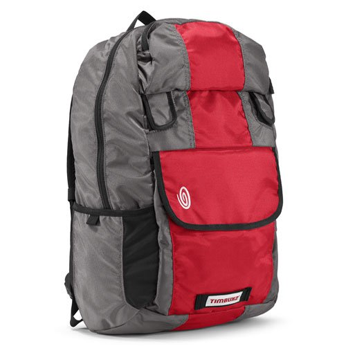 Timbuk2 Amnesia Laptop Backpack, Rev Red/Cement/Gunmetal, Medium