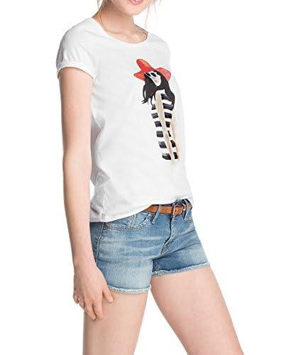 ESPRIT T-Shirt Manica Corta [Bianco]