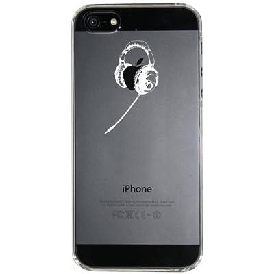 【Clear Arts】【iPhone5ケース カバー】【スマホケース カバー】 【ヘッドホン】クリアー・アーツ ip5-06-ca0002  スマートフォン