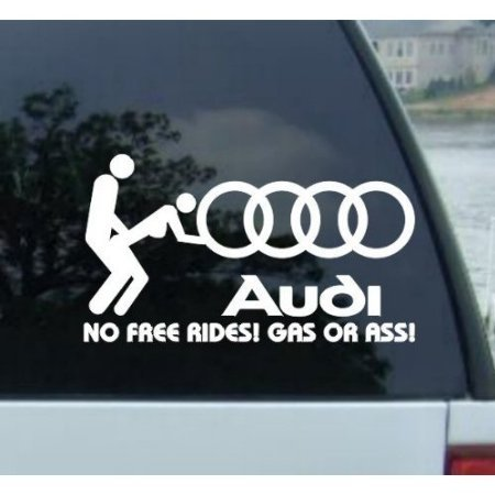 adhesivo-no-free-rides-audi-style1-177mm-white-decal-vinyl-for-car-truck-chevrolet-chevy-avalanche-a