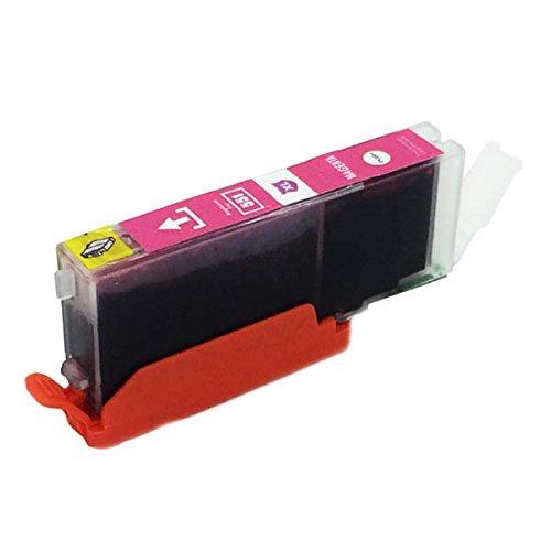 1 x kompatibel Tintenpatronen CLI-551 Maganta mit Chip für Canon Pixma: IP7250 IP8750 IX6850 MG5450 MG5550 MG6350 MG6450 MG7150 MX725 MX925 iX6850 iP8750
