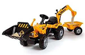 Smoby Tractor Builder Tricycle Pedal Ride-On