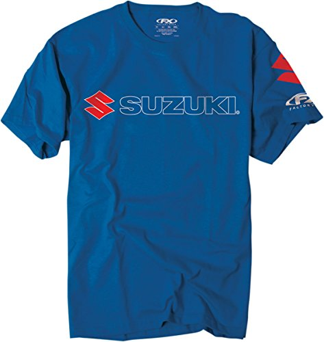 Factory Effex 'Suzuki' Team T-Shirt (Blue, XX-Large) (Suzuki Clothing compare prices)