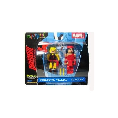Marvel MiniMates Daredevil Yellow and Elektra - 1