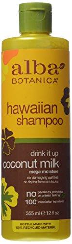 Alba Botanica Rich Hair Wash, Coconut Milk, 12 Fl Oz