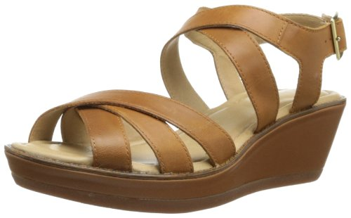 Womens Brown Leather Sandals