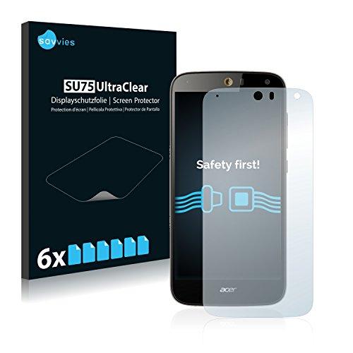 6x Pellicola Protettiva per Acer Liquid Z630 Protezione Proteggi Schermo Trasparente