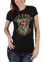 Rolling Stones - - Femmes Tattoo You Tour T-shirt en noir