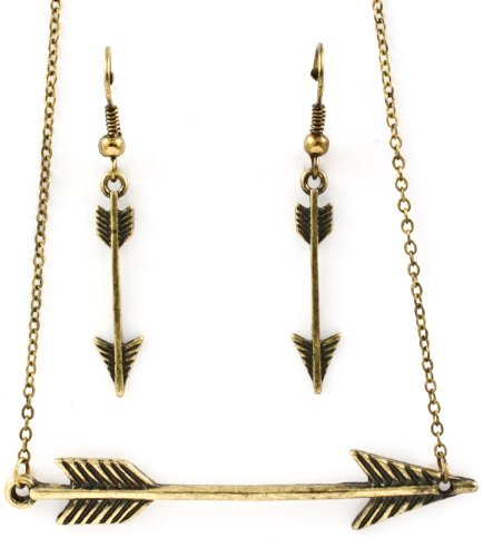 Vintage Archery Arrow - Hunger Game Arrow Fashion Necklace