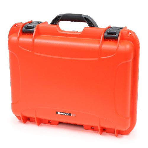 Nanuk 925 Case With Cubed Foam (Orange)