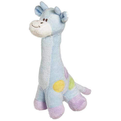 """Giraffe With Rattle Blue 9"""" """" Plush Toy front-858732"""