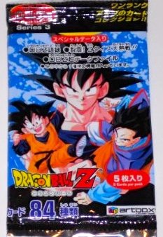 Dragonball Z Series 3 Hero Collection Trading Cards 5 Pack