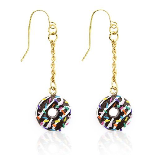 Dylan's Candy Bar Donut Earrings