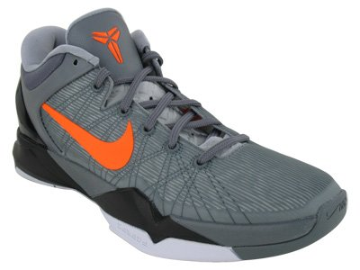 Nike Zoom Kobe VII System Mens Basketball Shoes 488371-002 Wolf Grey 12 M US