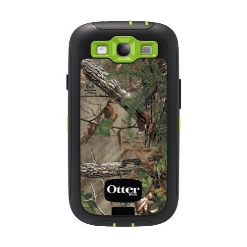 Otterbox Defender Series Case And Holster For Samsung Galaxy S3 - Retail Packaging - Realtree - Xtra Green