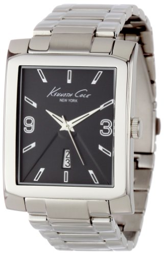 Kenneth Cole New York Men's KC3989 Classic Rectangle Tank Analog Watch