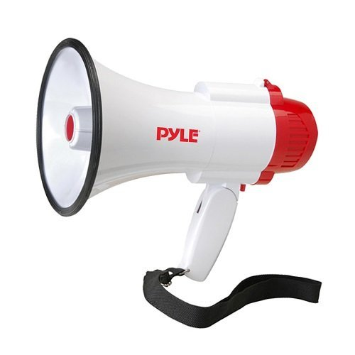 pyle-pro-pmp35r-professional-megaphone-bullhorn-with-siren-and-voice-recorder