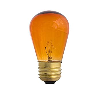 String Lights Bulb Replacement : Amber S14-11w Bulb - Patio string light replacement Bulb - - Amazon.com