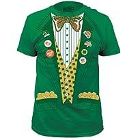 Lucky Leprechaun Irish St. Patrick's Day Tuxedo Tux T-Shirt