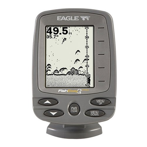Eagle fishfinder eagle fisheasy 245 ds 4 inch waterproof for Amazon fish finder