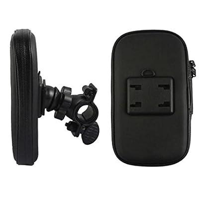 Tenworld iPhone SE/5/5S Case WaterProof Motorcycle Bike Handlebar Mount Bag
