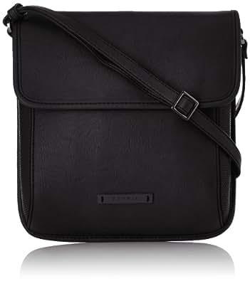 Esprit Casey Medshldbg, Sac bandoulière - Noir (001 Black), Taille Unique