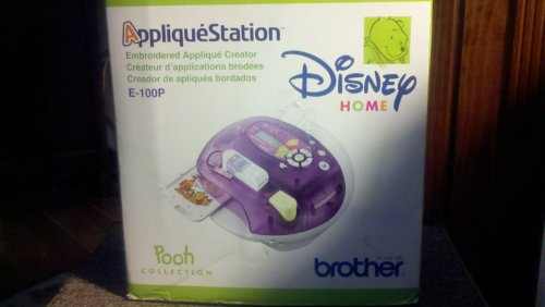 DISNEY HOME APPLIQUE STATION--EMBROIDERED APPLIQUE CREATOR (MODEL E-100P) (Brothers Embroidery Disney compare prices)