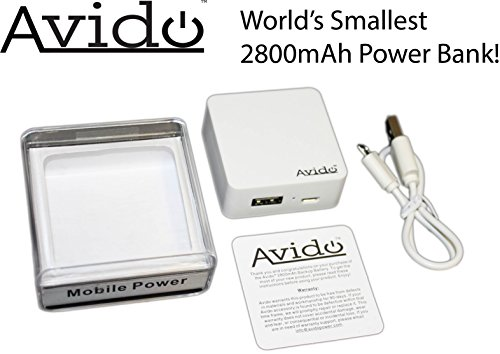 Avido Cube 2800mAh Power Bank