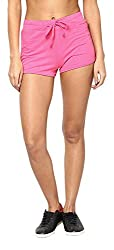 Only Women'S Casual Shorts (_5712064766628_Pink Glo_Small_)