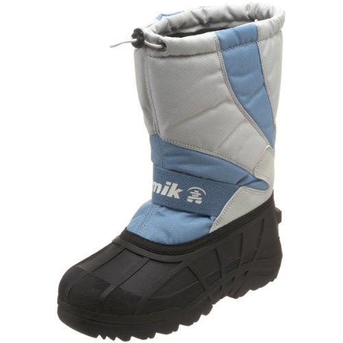 Kamik Stormy Cold Weather Boot (Toddler/Little Kid/Big Kid),Light Grey,1 M US Little Kid