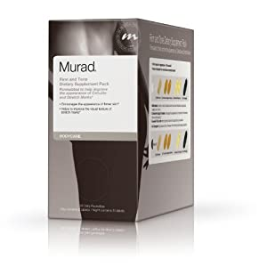 Murad Body Care Firm and Tone Dietary Supplement Pack, for Cellulite and Stretch Mark Management