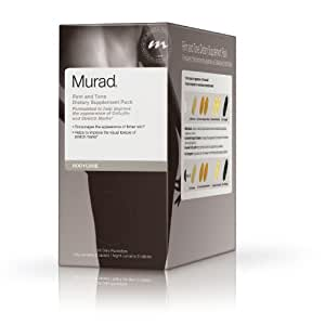 Murad Body Care Firm and Tone Dietary Supplement Pack, for Cellulite and Stretch Mark Management, 28 Daily Packettes