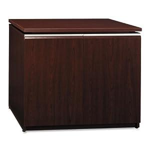 Bush Storage Cabinet, 35-3/4-Inch by 23-3/8-Inch by 29-5/8-Inch, Henna Cherry