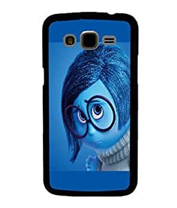 printtech Sad Disney Inside Out Back Case Cover for Samsung Galaxy J5::Samsung Galaxy J5 J500F