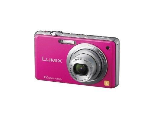 Panasonic デジタルカメラ ルミックス ピンク DMC-FS10-P