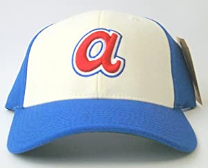 Atlanta Braves American Needle Cooperstown 500 Retro 1974 Leather Backstrap Cap by American Needle