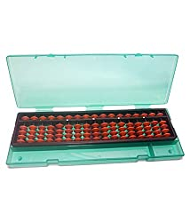 Sae Fashions Brown 17 Rod Abacus Kit With Box