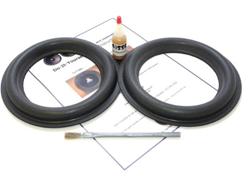 "Audioque 8"" Tall Roll Subwoofer Foam Surround Repair Kit - Sd2 Audioq Aq - 8 Inch"