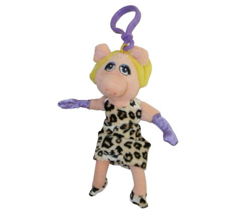 The Muppets Miss Piggy 4'' Plush Clip On