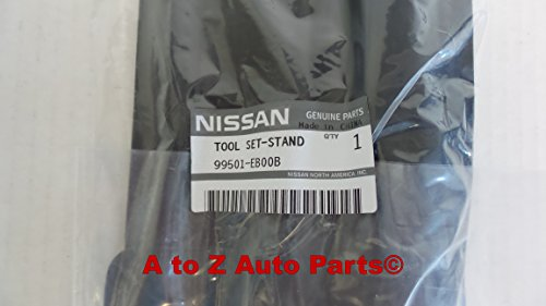 NEW 2005-2014 Nissan Frontier Spare Tire Jack Tool Kit Bag Set,OEM (Car Spare Tire Tools compare prices)