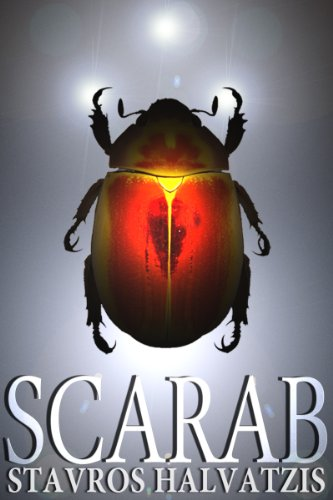 <strong>Stavros Halvatzis' bestselling high-tech thriller <em>SCARAB</em> ... A fast-paced entertaining read on a fascinating subject – quantum mechanics, with a dash of fanciful archeological intrigue, suspense, and some graphic content ... Over 35 Rave Reviews & Just 99 Cents **Plus A Link to This Week's Kindle Fire Giveaway Sweepstakes</strong>