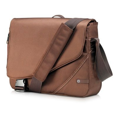 """Value Carrying Case (Messenger) For 16"""" Notebook - Brown"""