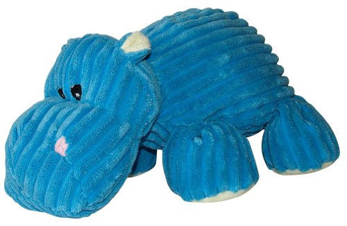 41nk%2BPNZu9L Hagen Dogit Luvz Plush Toy, Blue Hippo