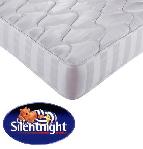 Silentnight Classic Silver Label Mattress - 3Ft Single - Miracoil Spring System - No Roll Technology - Firm