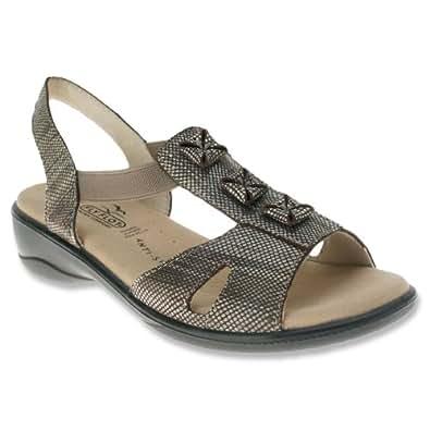 Amazon.com: Flexus Women's Beige Leather Standup 42 B(M) EU: Shoes