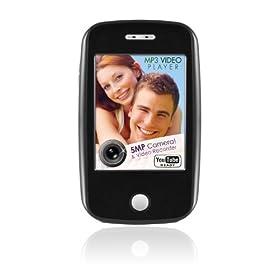 ematic EM604 4 GB视频 MP3 /触摸屏/500万像素的视频/相机/FM收音机 /扬声器$33.00