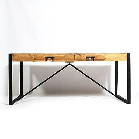"Table à manger avec allonges industrielle ""2ALL"" | MOX2ALL"