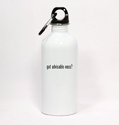 got advisable-ness? - White Water Bottle with Carabiner 20oz (Ness Espresso compare prices)