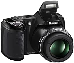 Nikon Coolpix L330 Compact Digital Camera - Black (20.2MP, 26x Optical Zoom) 3.0 inch LCD