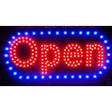 "LED Neon Light Open Sign With Animation On/off and Power On/Off two Switchs for Business By ""E Onsale"" L46"